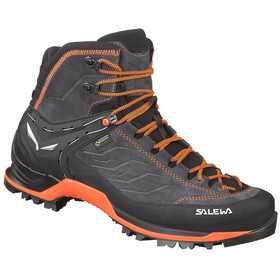 SALEWA MTN Trainer Mid GTX Shoes Men asphalt/fluo orange